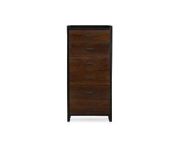 Crate & Barrel Forsyth 6-Drawer Tall Chest
