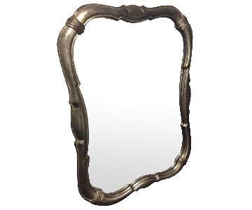 Vintage Gilded Glass Mirror