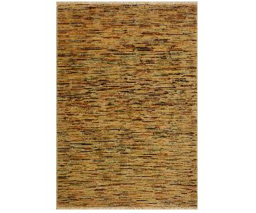Arshs Fine Rugs Gabbeh Belle Tan/Multi Wool Area Rug