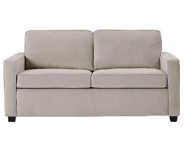 West Elm Henry Dove Grey Sofa