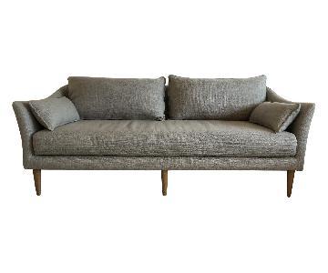 West Elm Antwerp Platinum Weave Sofa