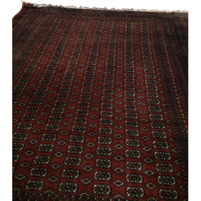Vintage Bokara Traditional Hand Woven Rug