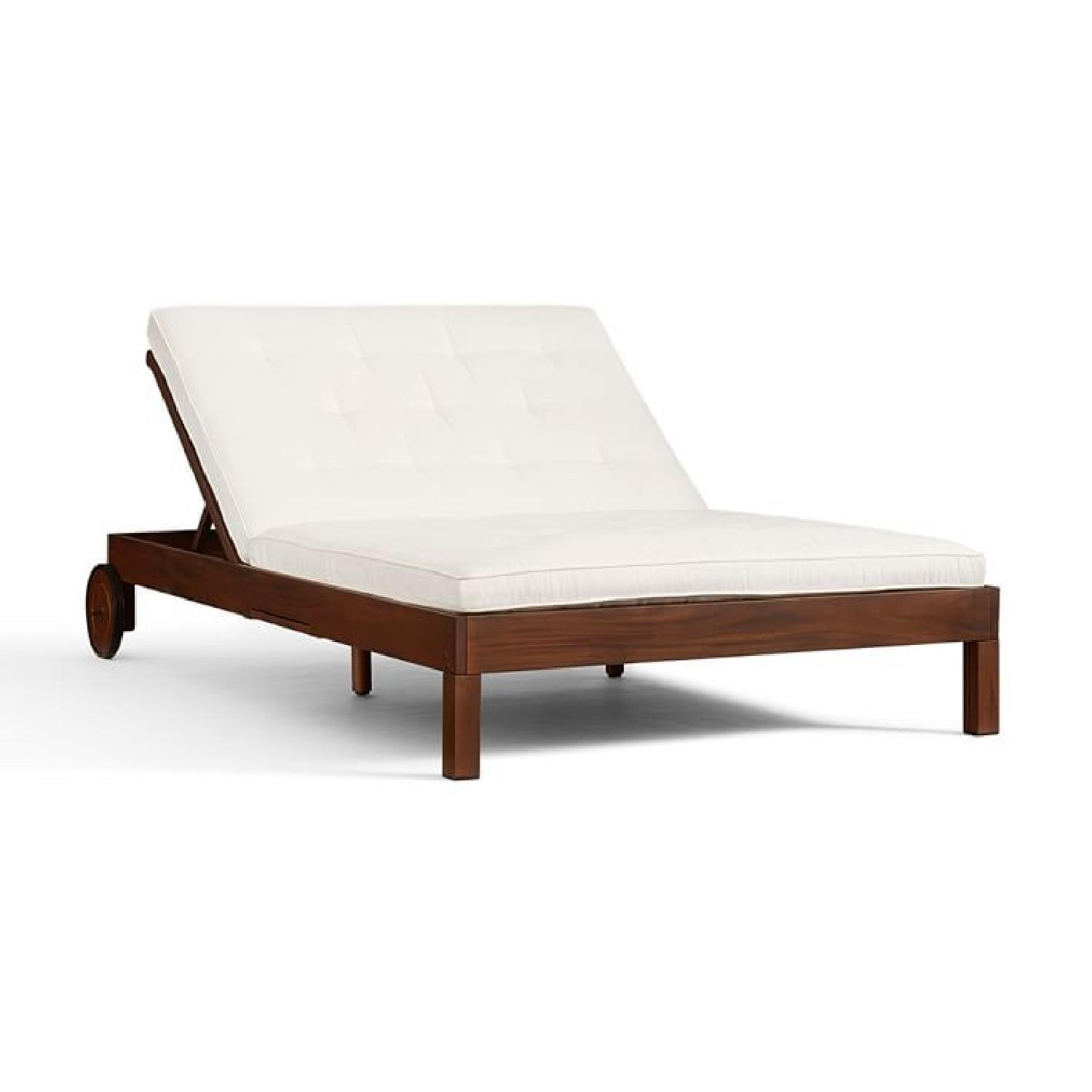 Pottery Barn Chatham Double Lounge Chair ...