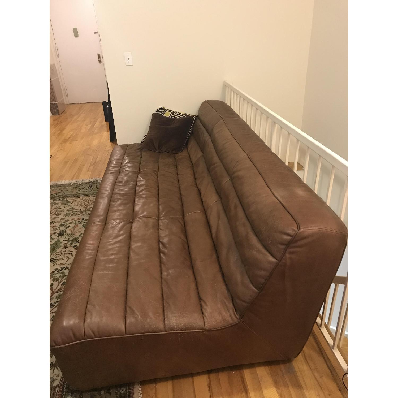 Restoration Hardware Chelsea Leather Sofa-2