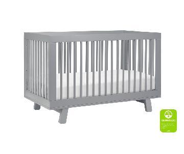 Babyletto Hudson Convertible Crib in Gray