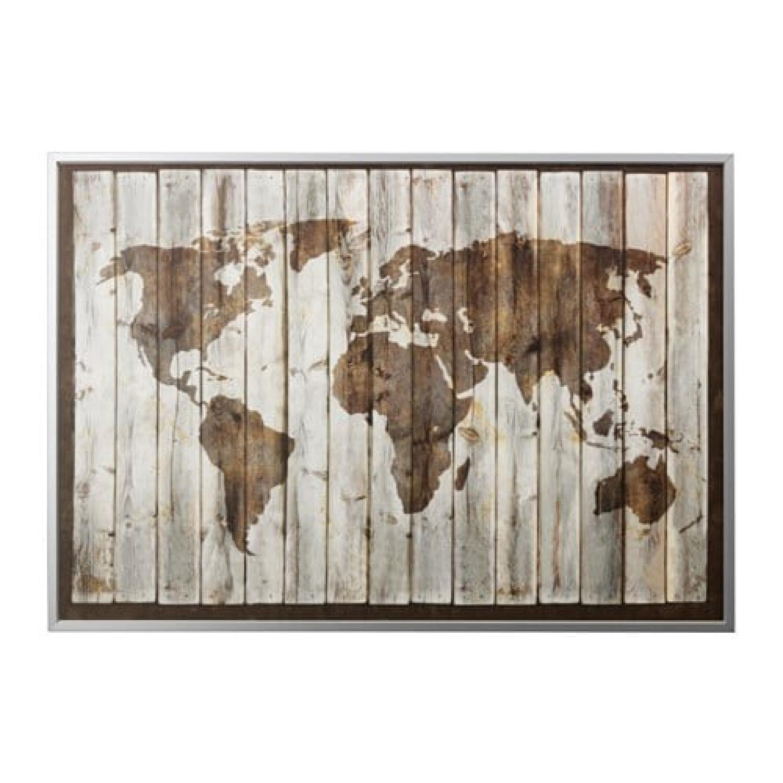 Ikea bjorksta world wall map aptdeco ikea bjorksta world wall map gumiabroncs Image collections