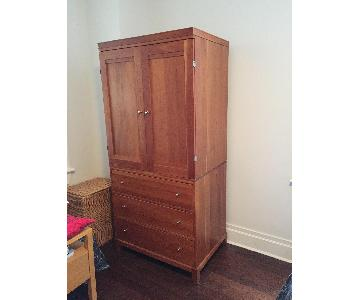 Crate & Barrel Cabot Armoire