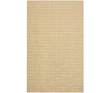 Arshs Fine Emmie Lt. Blue/Ivory Hand-Woven Kilim Wool Rug