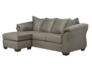 Raymour & Flanigan Whitman Sectional Sofa w/ Chaise