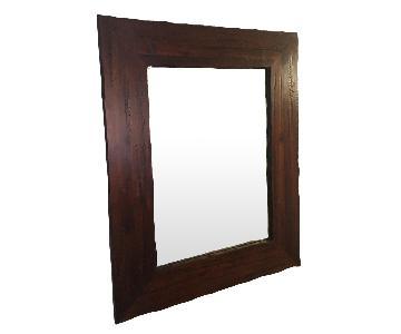 Pottery Barn Hallway Mirror
