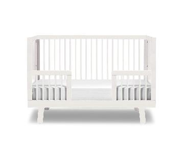 Oeuf Sparrow Crib w/ Toddler Bed Kit
