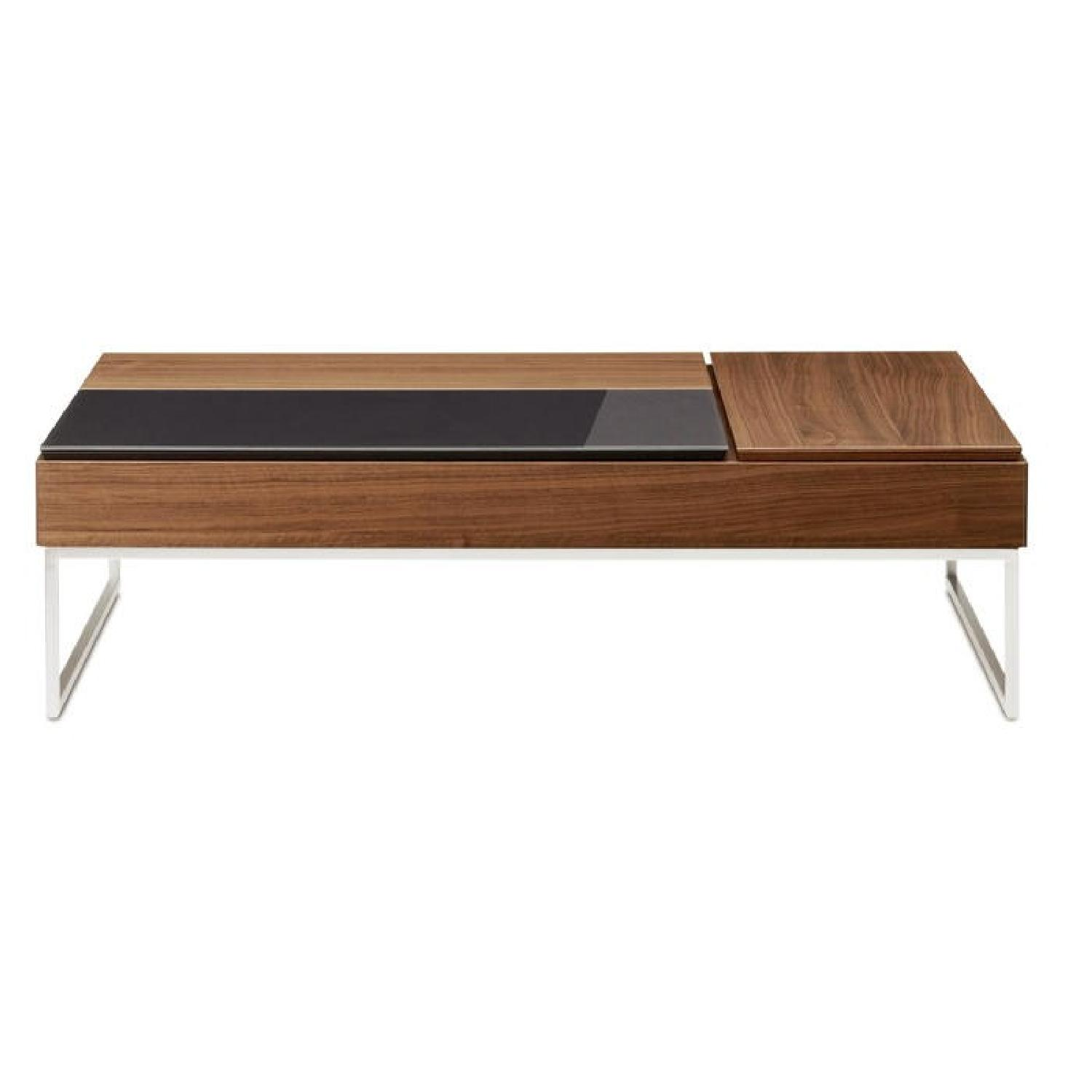 BoConcept Chiva Modern Pop Up Hidden Storage Coffee Table ...  sc 1 st  AptDeco & BoConcept Chiva Modern Pop Up Hidden Storage Coffee - AptDeco