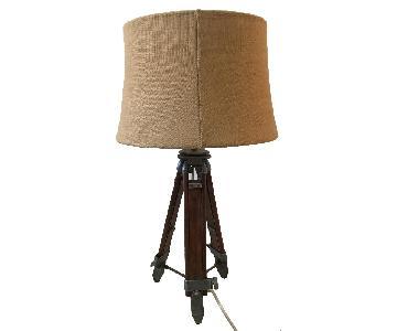Pottery Barn Industrial Desk Lamp