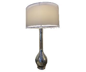John Richard Table Lamps w/ Silver Mirror Base