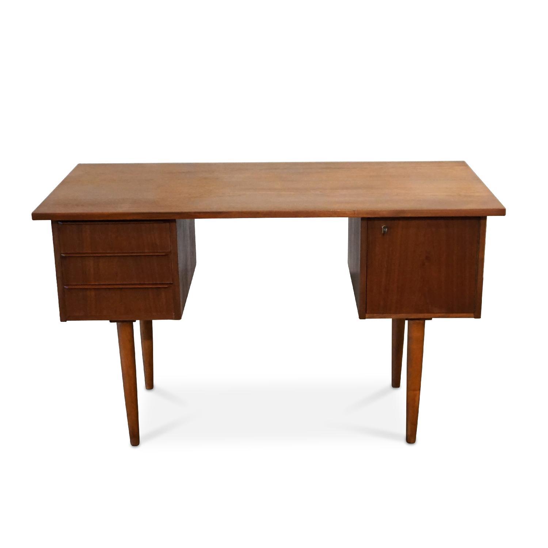 Thyholm Danish Mid Century Modern Teak Desk