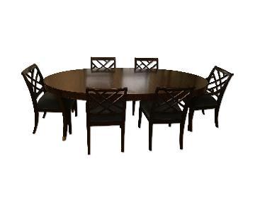 Ethan Allen Classic 7-Piece Dining Set - per set of 7