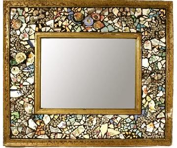 Mosaic/Pique Assiette Mirror