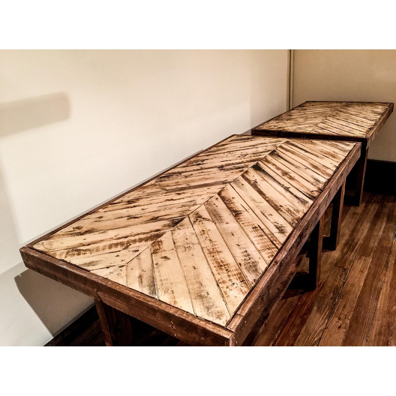 Creative X Soul Stone Washed Chevron Table-0
