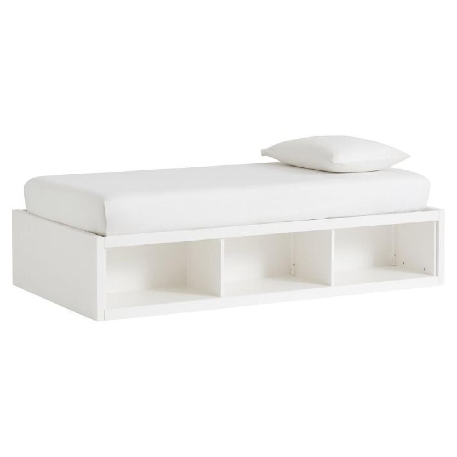Picture of: Pottery Barn Store It Corner Twin Size Beds W Storage Aptdeco