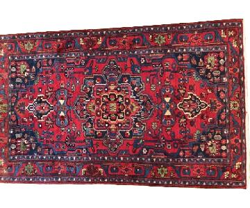 Hand Knotted Persian Tribal Wool Rug