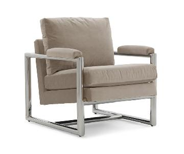 Mitchell Gold + Bob Williams Presley Cordell Dove Grey Chair