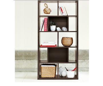 West Elm Rectangle Cutout Bookcase