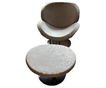 BoConcept Schelly Chair & Footstool