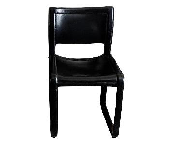 Vintage Matteo Grassi Sistina Leather Dining Chairs