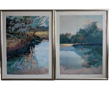 Donald Munz Landscape Serigraphs