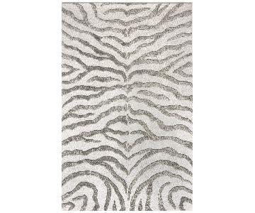 Lowe's Zebra Print Area Rug