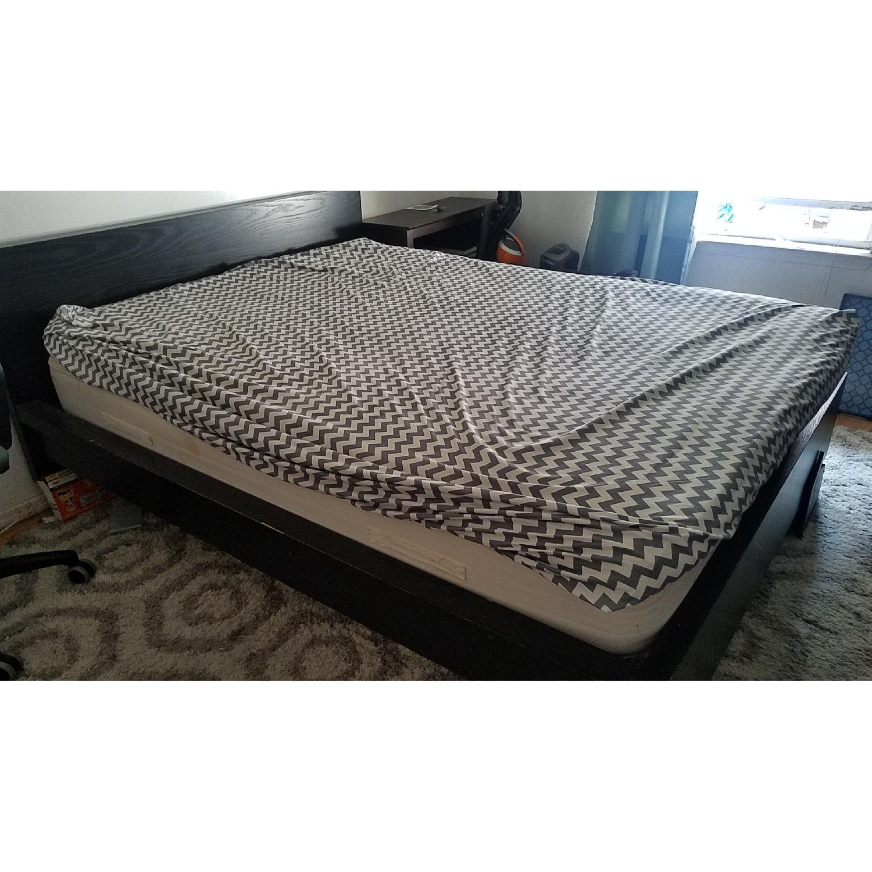 ... Ikea Malm Black King Size Bed Frame 0 ...
