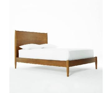 West Elm Mid-Century Queen Bed