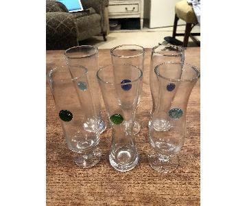 Anthropologie Beer Tasting Glasses
