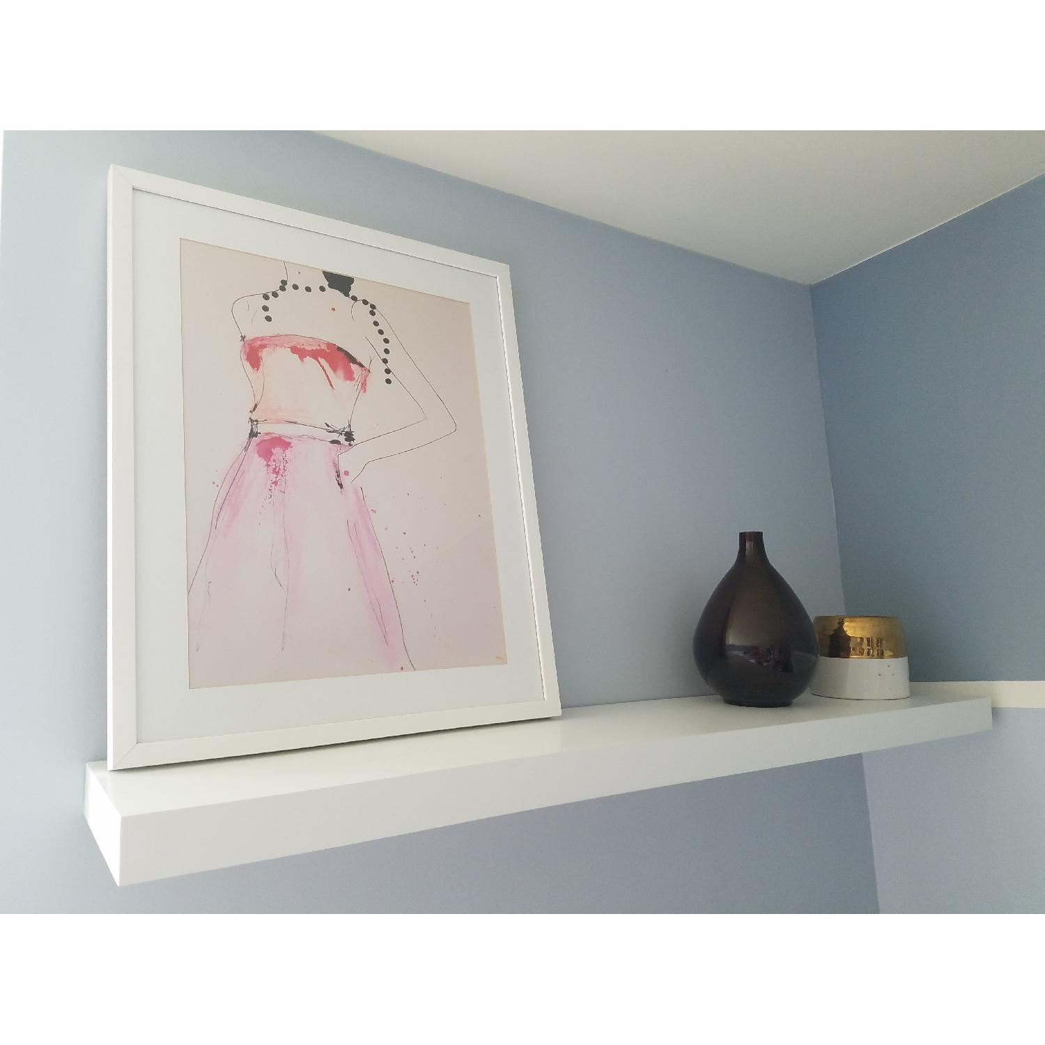 Welland White Floating Shelves