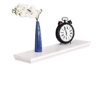 Welland White Floating Shelves