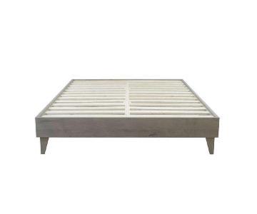 Mid Century Cali King Platform Bed