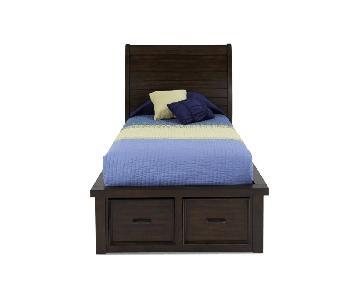 Bob's Hudson Chattam Cherry Twin Beds