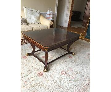 Traditional Wood Coffee Table
