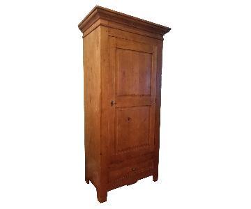 ABC Carpet and Home Wood Wardrobe
