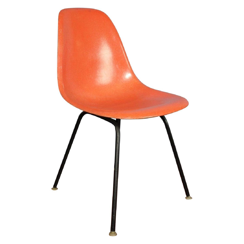 Herman Miller Mid Century Fiberglass Bucket Chairs