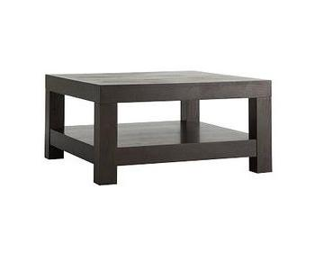 West Elm Parsons Chocolate Coffee Table