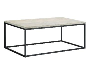 West Elm Natural Coffee Table