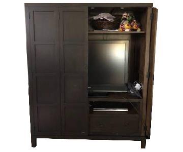 West Elm Media Storage Cabinet/Armoire
