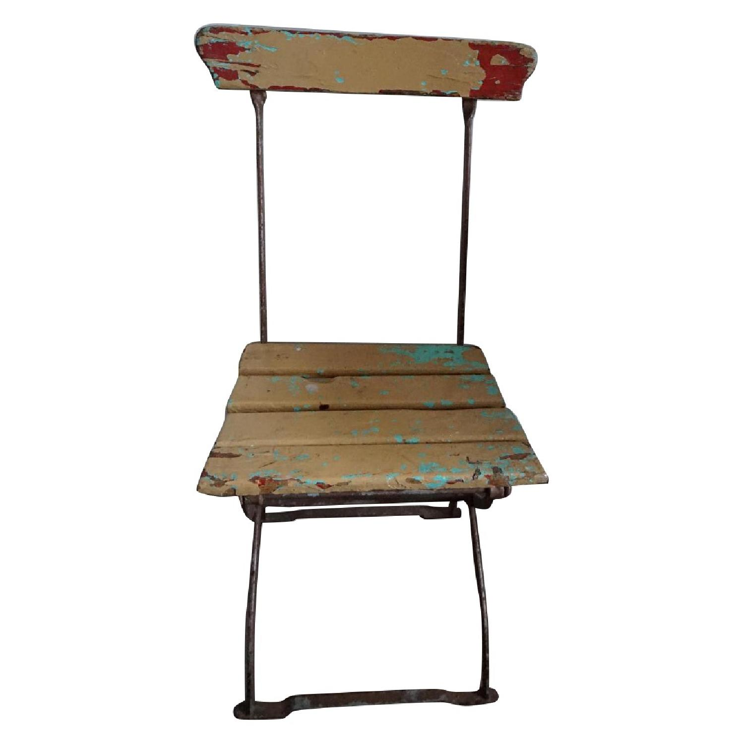 Antique European Folding Chair