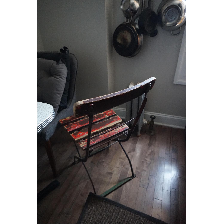 Antique European Folding Chair
