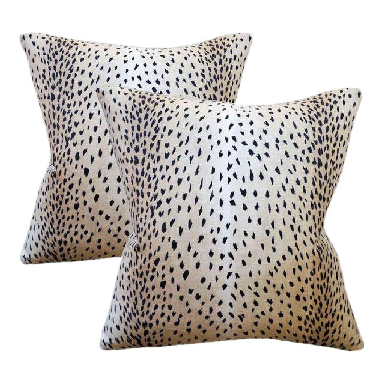 Doe Linen Antelope Down Feather Pillows