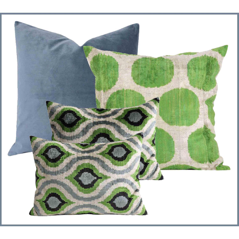 Silk Velvet Pillows