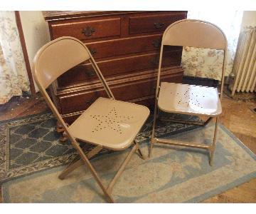 Texas Star Metal Folding Chairs