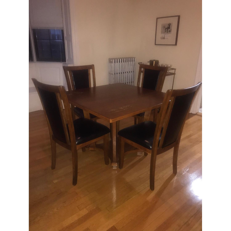 Ashley Meredy Dining Table W 4 Chairs Aptdeco