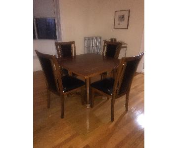 Ashley Meredy Dining Table w/ 4 Chairs